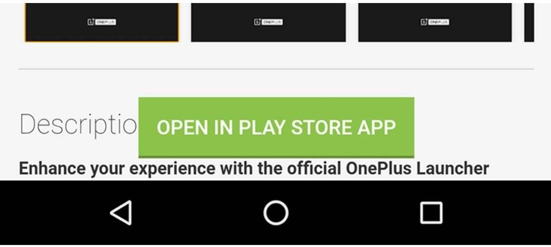 "google adds open play store button play store mobile site - غوغل تضيف زر ""فتح في متجر بلاي"" إلى موقع متجر بلاي للهاتف المحمول"