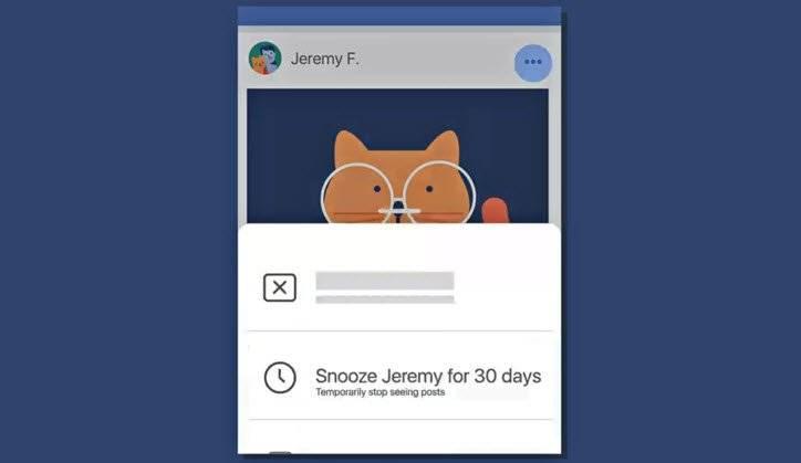 "facebook announces snooze - جديد الفيسبوك ميزة غفوة او ""snooze"""